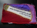 Textile gifts business cards