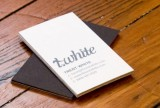 Trent White business cards