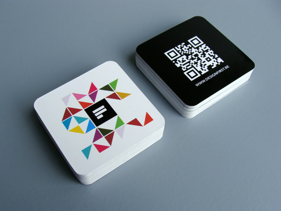 Design first business card inspiration cardfaves qr code business card colourmoves