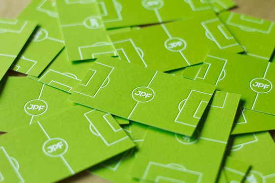 Junpiter business cards inspiration cardfaves football business card colourmoves