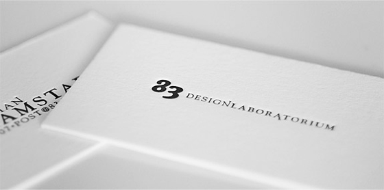 Silk white business cards