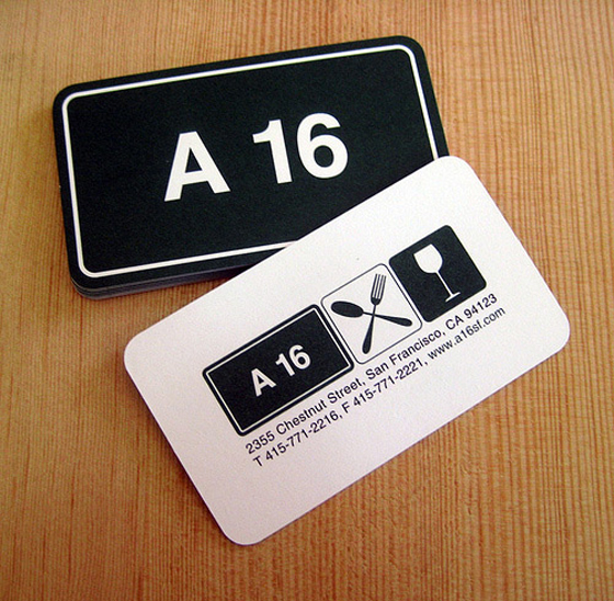 A16 Business Cards