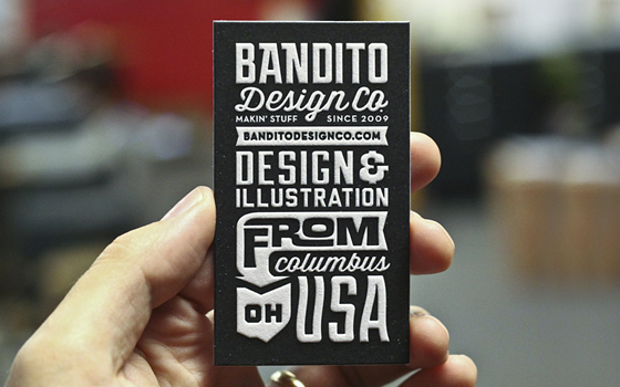 Bandito business card