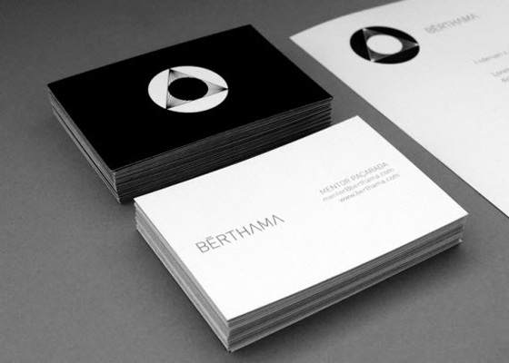 Business card of Berthama