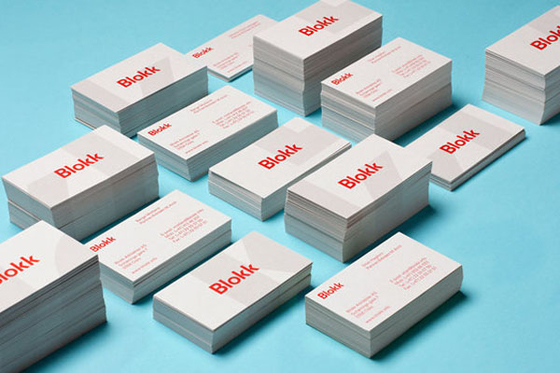 Blokk business cards