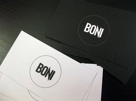 Boni business cards