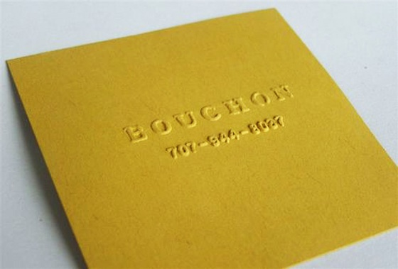 Square Bouchon business card
