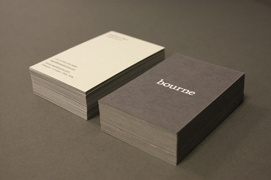 Bourne business cards