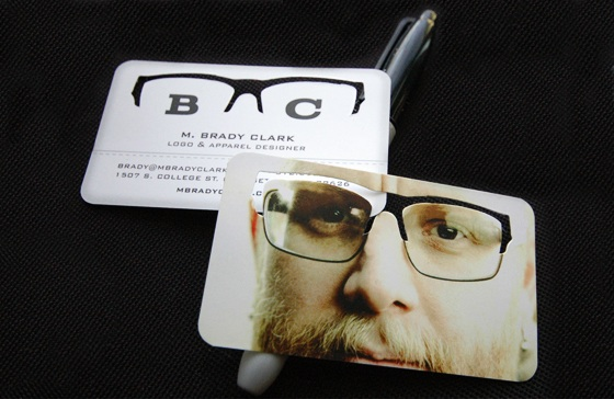 Business card for Brady Clark