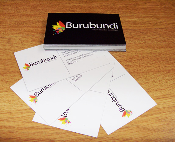 Burubundi business cards