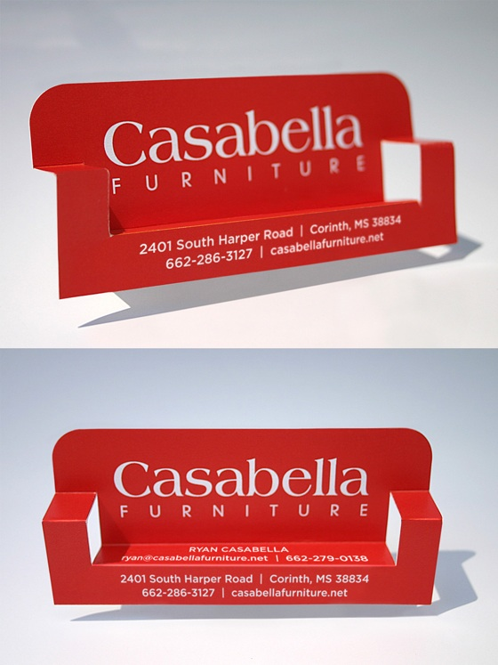 Casabella business card