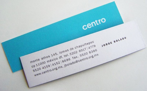 Small business cards by centro