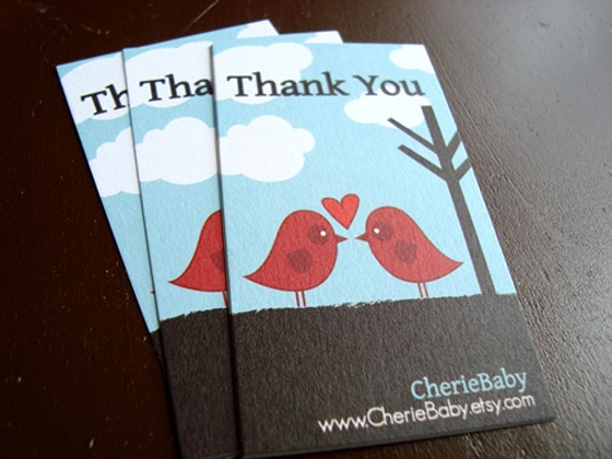 CherieBaby business cards