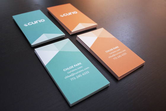 Curio business cards