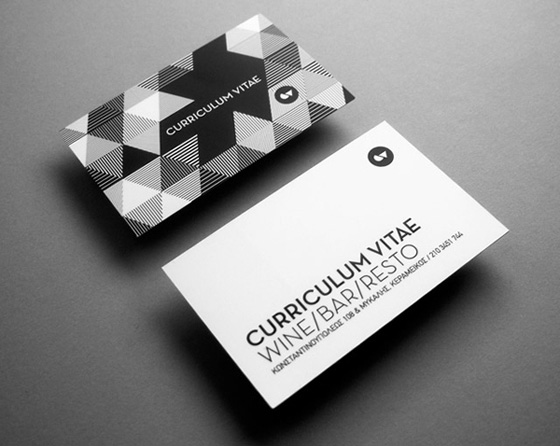 Curriculum Vitae business cards