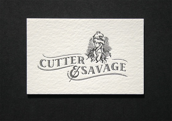 Cutter Savage business card