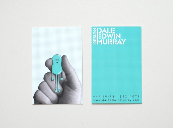 Dale Edwin Murray Design business cards
