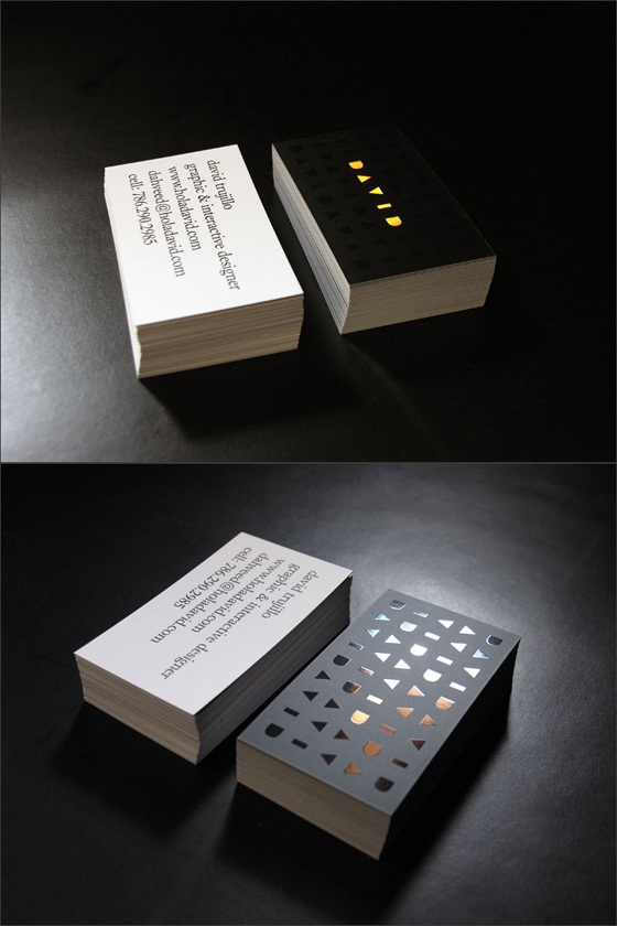 David's business cards