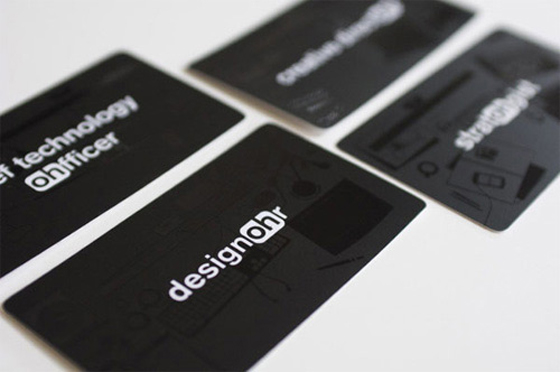 Designohr business card