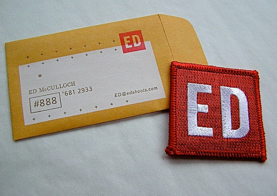 Ed Mulloch's Business Card