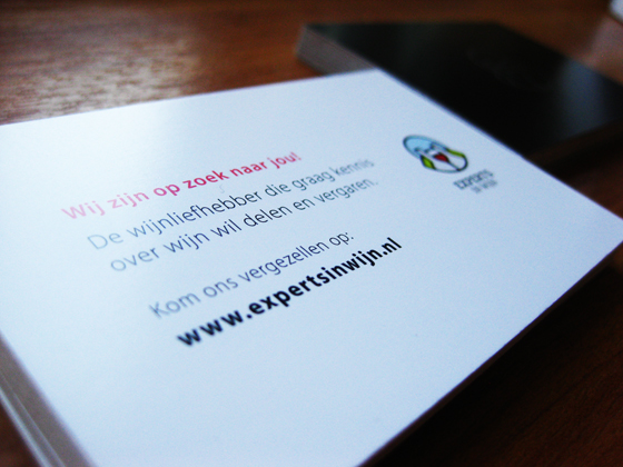 Experts in Wijn business cards