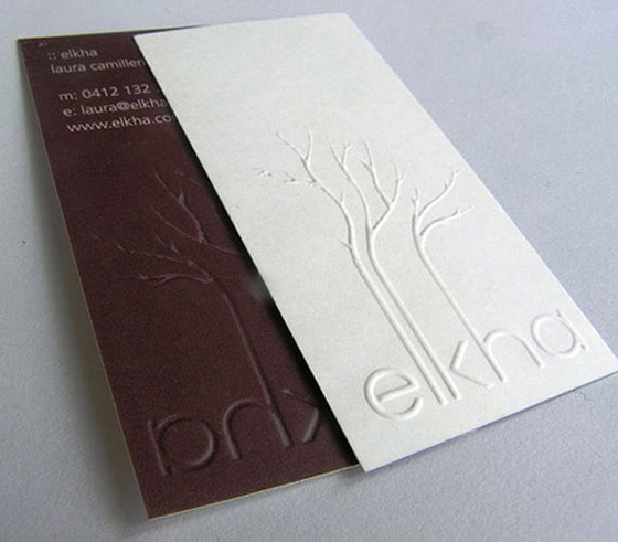 Elkha business card