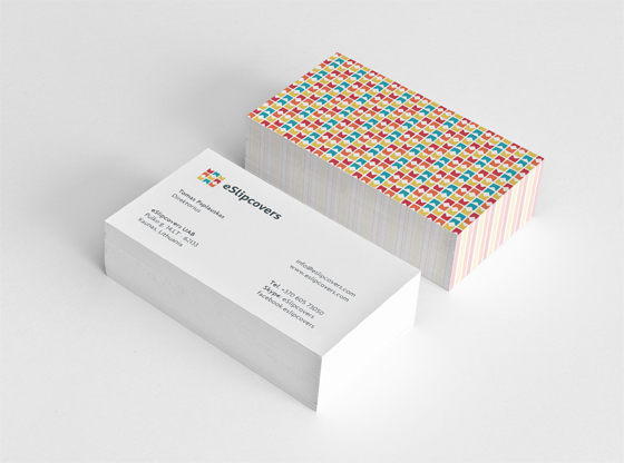 eSlipcovers business cards