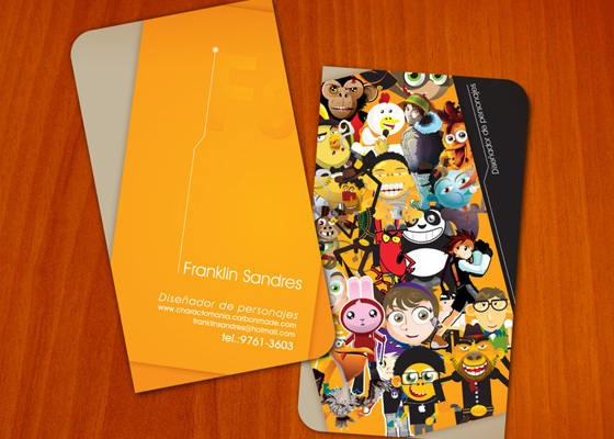 Illustrative business cards