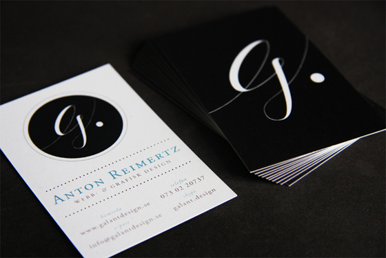 Galant business cards