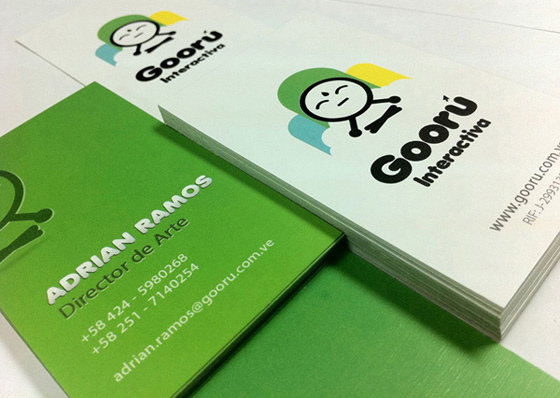 Gooru Interactive business cards