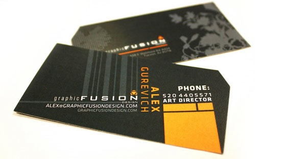 Graphic Fusion business cards