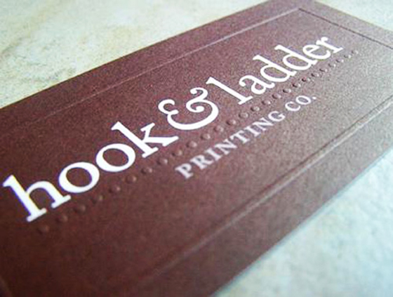 Hook and Ladder business card