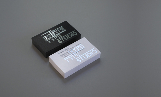 Hype Type Studio business cards