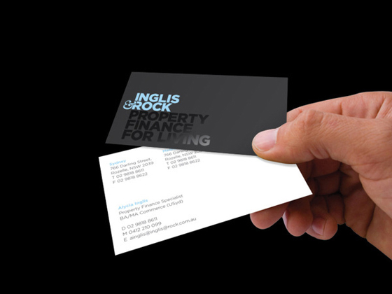 Inglis Rock business card