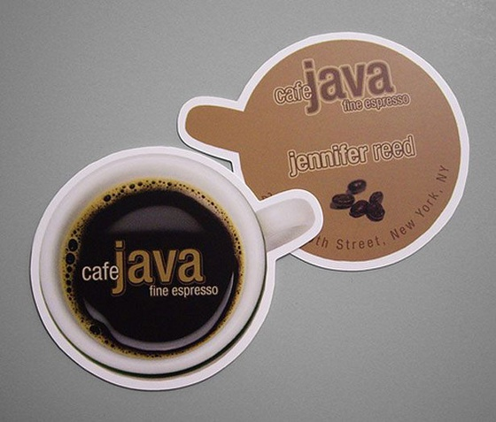 Java business cards