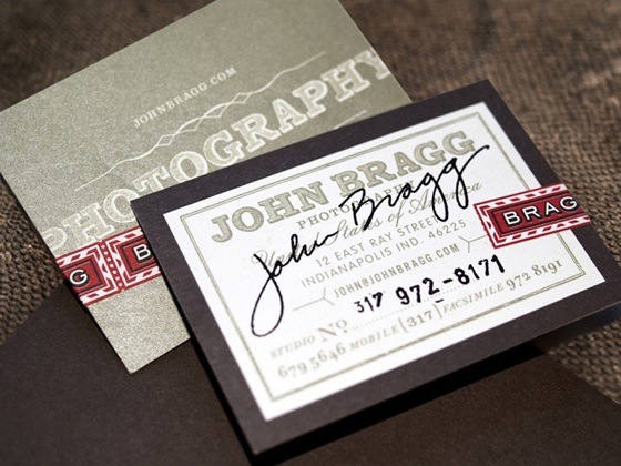 John Bragg business cards