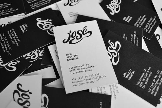 José Design business cards