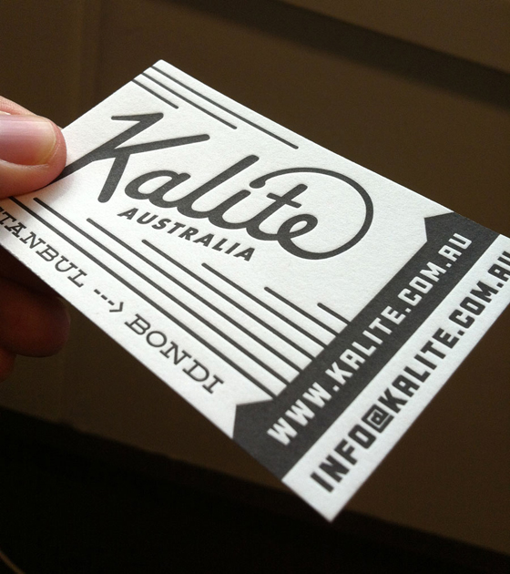 Kalite business card