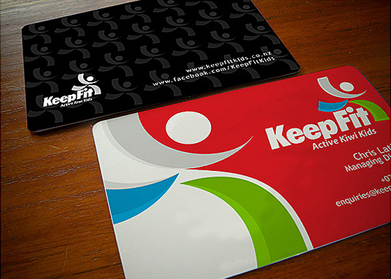 Keep Fit business card