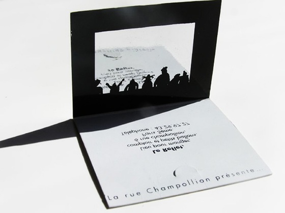 Theatre business cards