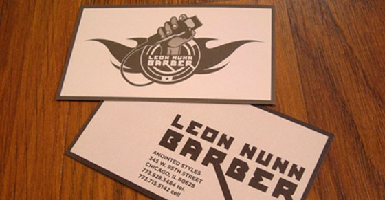 Leon Nunn business cards