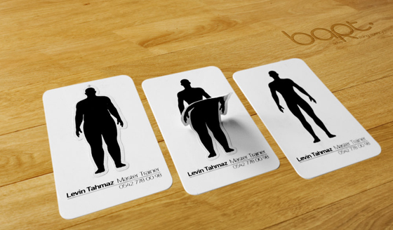 Fitness business cards inspiration - CardFaves