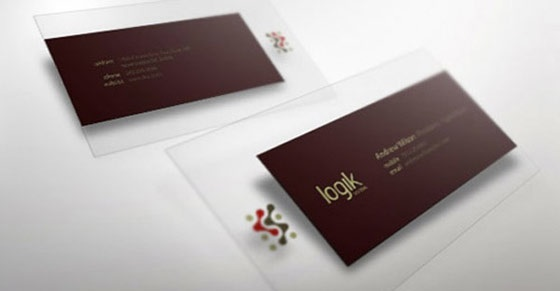 Logik business cards