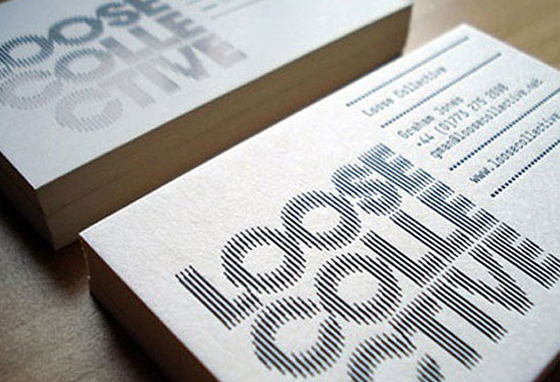 Loose Collective business cards