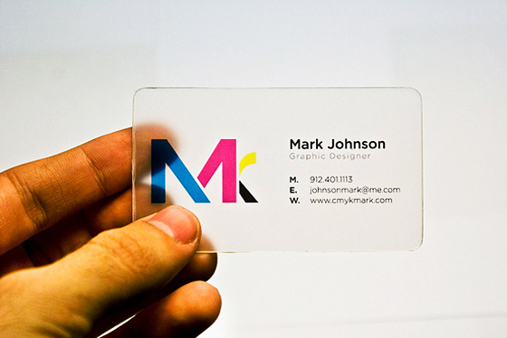 Mark Johnson business card