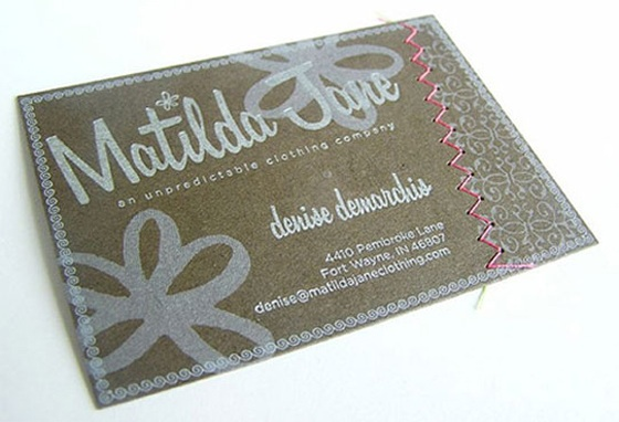 Matilda Jane business card