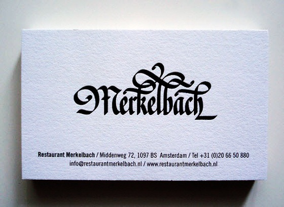 Merkelbach business card