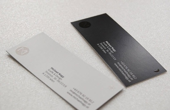 Business cards of Michael Nagy