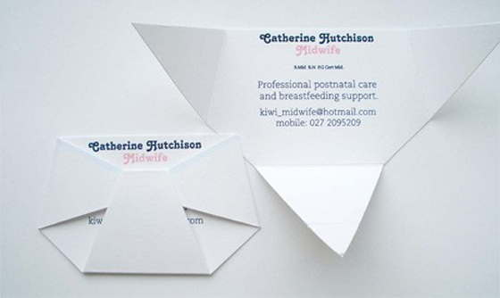 Midwife business cards
