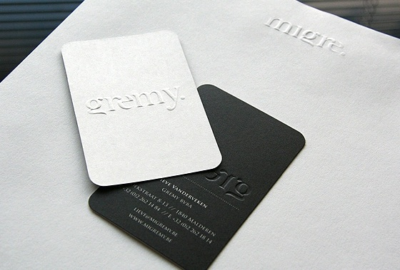 Migré & Gremy business card